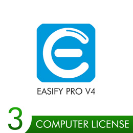 Easify Pro V4 - 3 Computer License Pack