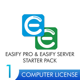 Easify Pro & Server V4 - 1 Computer Starter Pack