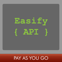 Easify API Monthly Subscription