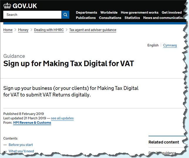 Easify Help - HMRC - Making Tax Digital (MTD)