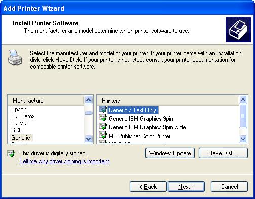Generic Usb Printer Driver Windows 7