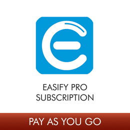 Easify Pro V4 - 1 User License Monthly Subscription