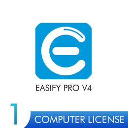 Easify Pro V4 - 1 Computer License