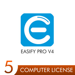 Easify Pro V4 - 5 Computer License Pack
