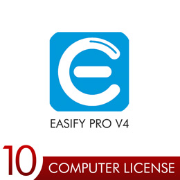 Easify Pro V4 - 10 Computer License Pack