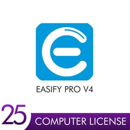 Easify Pro V4 - 25 Computer License Pack