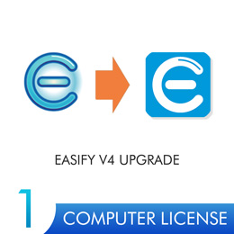 Easify Pro V4 UPGRADE - 1 Computer License