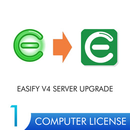 Easify Server V4 UPGRADE - 1 Server License