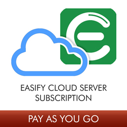 Easify Cloud Server Monthly Subscription