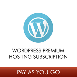 WordPress Web Hosting Subscription